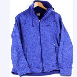 Avalanche Med Jacket Fleece Knit Thumb Holes